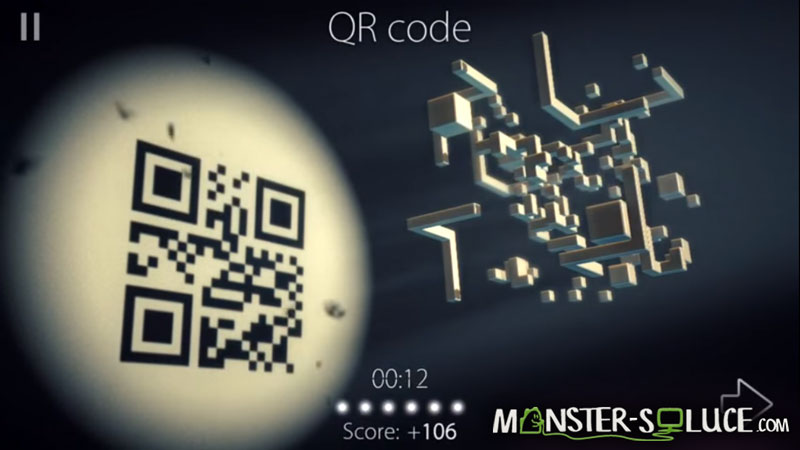 QR core, solution Monde 8 Puzzle 1
